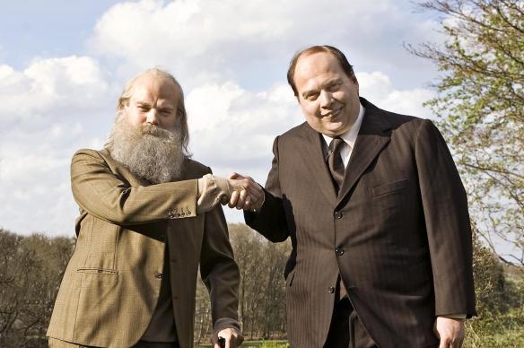 Pan Marks i Pan Prawicowy Gnom zapraszają na podatkową rewolucję w sosie seksualnej frywolności. Źródło: www.bt.dk