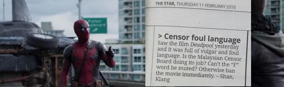 Z Klangu Shan/ oburzony pan/ dostał podniety/napisał do gazety/ głupi karakan, Za: therakyatpost.com